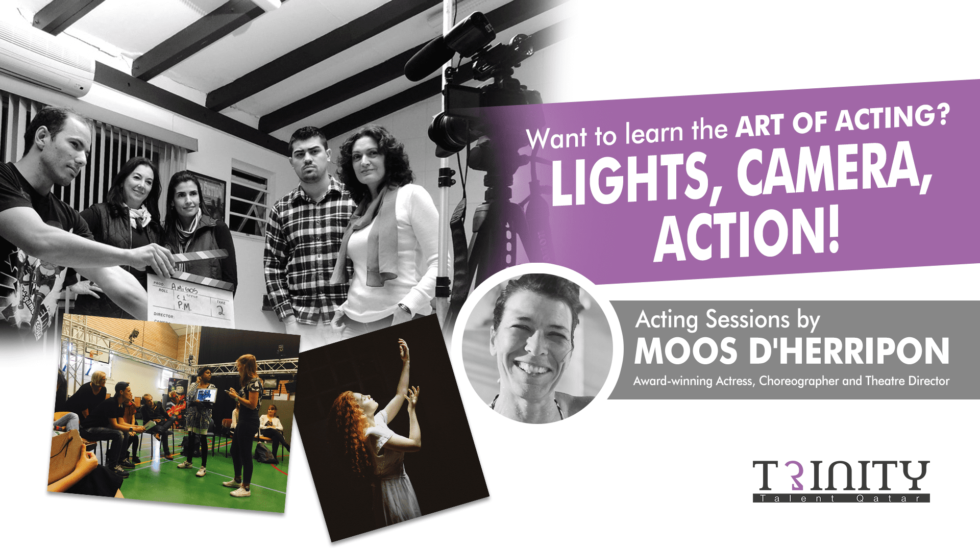Acting Workshop with Moos D'Herripon